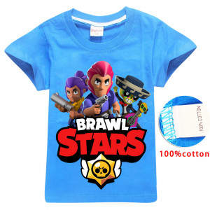 Tričko Brawl Stars Team blue