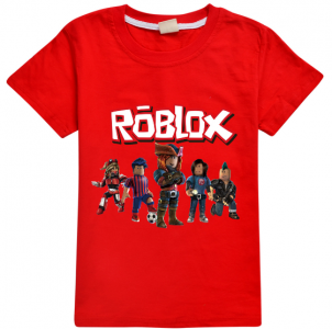 Tričko Roblox Heroes Red