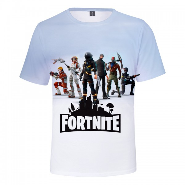 Tričko Fortnite White
